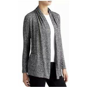 ATHLETA Grey Soft Pose Wrap Cardigan Sz S